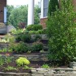 before and after terraced garden ashburn virginia