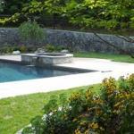 swimming pool landscape leesburg virginia