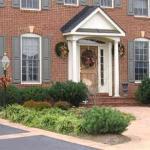 leesburg virginia home exterior walkway landscaping