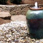 stone water fountain feature reston virginia