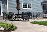 stone patio and walkway in northern virginia