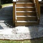 stone walkway under deck sterling virginia