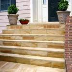 front exterior stone stairs sterling virginia