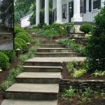 before and after stone stair landscaping northern virginia