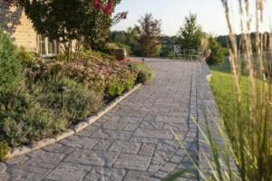 stone walkway landscaping northern virginia