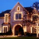 exterior holiday lighting in northern virginia