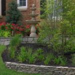 front yard landscaping wall northern virginia