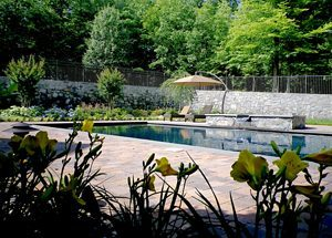 pool landscaping in northern virginia