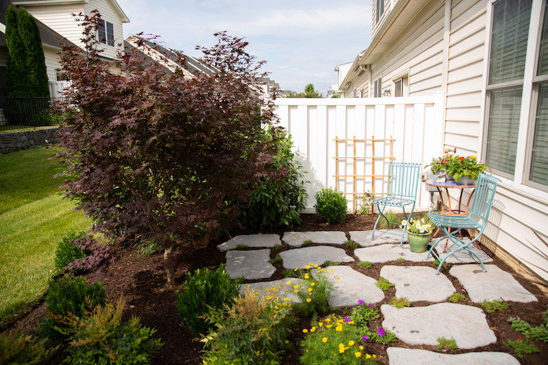 Small yard design tips Ashburn and Leesburg, VA