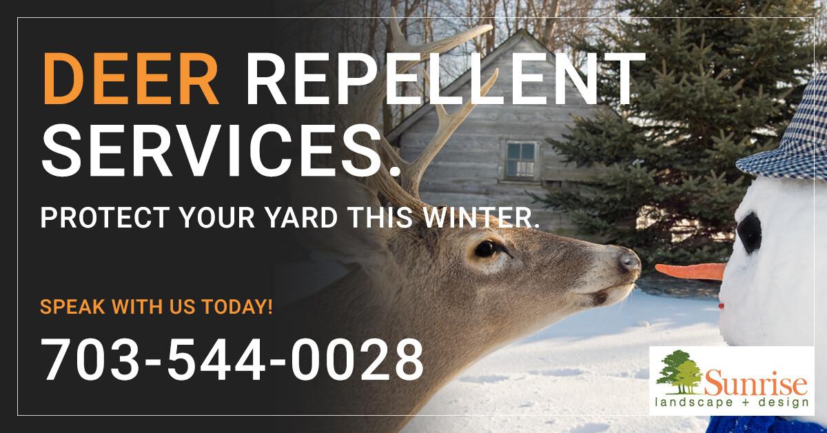 Deer repellent services in northern virginia